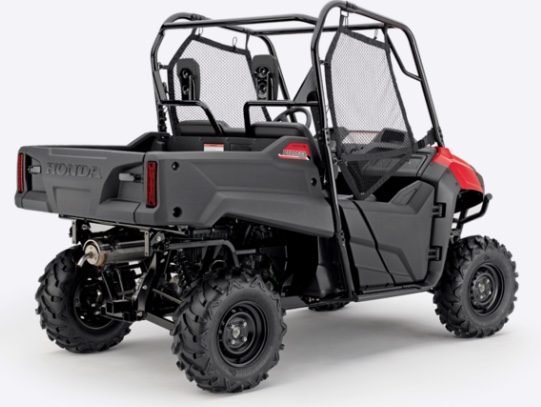 Honda Pioneer 700-2 ideal for gamekeepers and forestry workers
