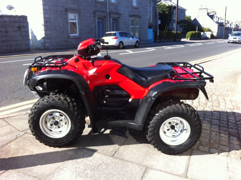 Used ATV TRX500 for sale at Paterson ATV Dalbeattie, Dumfries and Galloway