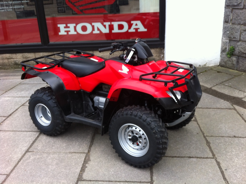 Second-hand quad bikes TRX250 available from Paterson ATV Centre Dalbeattie, Dumfries and Galloway