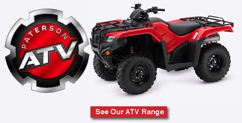 Paterson ATV for used quad bikes for sale, farm quad bikes for sale and second hand quad bikes for sale Newton Stewart, Scotland.