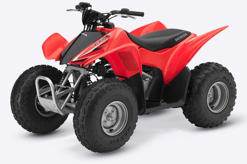 Honda Junior 2wd Sportrax 90 available from Paterson ATV Dalbeattie, Dumfries and Galloway's leading ATV Centre