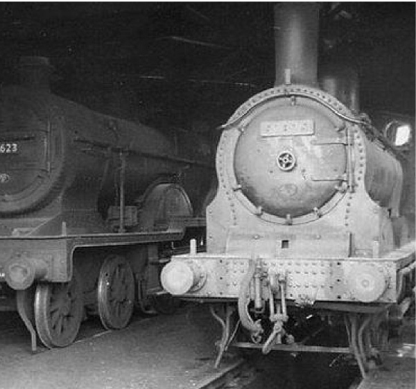 Locomotives at Millisle in years gone by