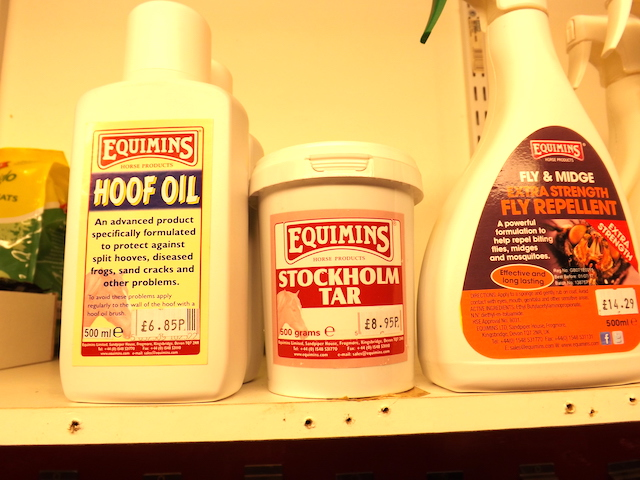 Equine care products