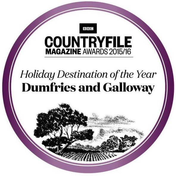 Dumfries and Galloway was awarded Holiday Destination of the year by the BBC Countryfile Magazine Awards 2015-2016