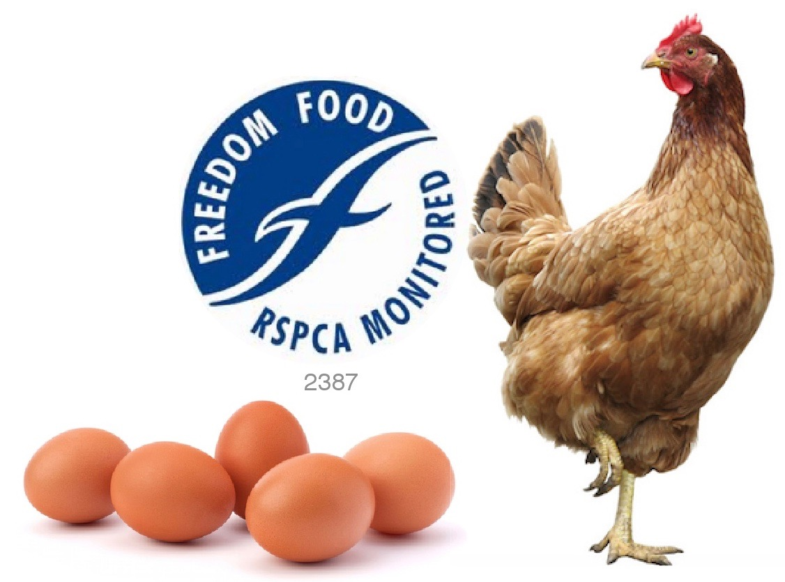 The RSPCA monitored Freedom Food logo
