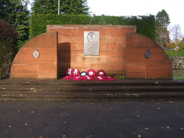 The Dowding Memorial, Station Park, Moffat