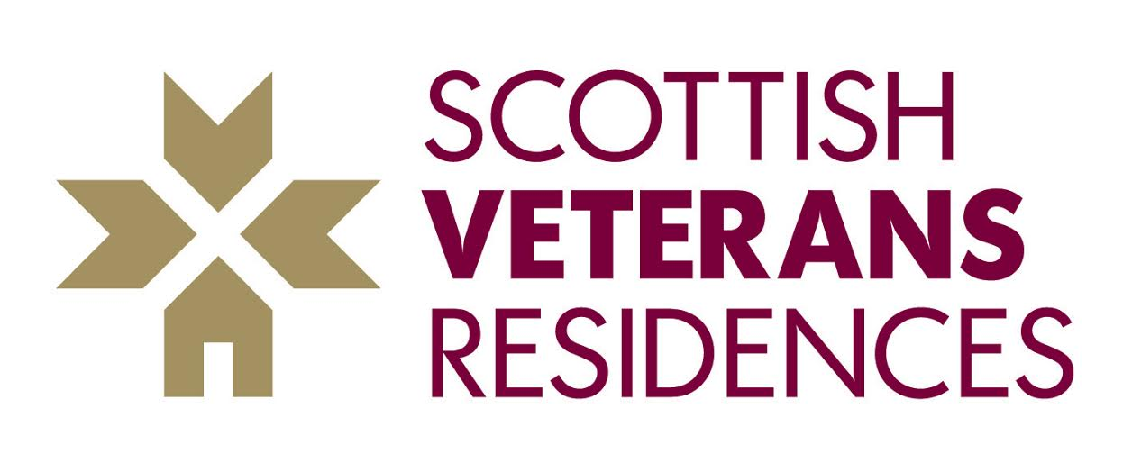 Logo of the Scottish Veterans Residences charity