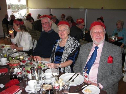 Guests at the Moffat Branch 2014 Christmas Party