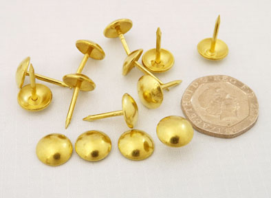Nails - Decorative Brass-plated (Electro)