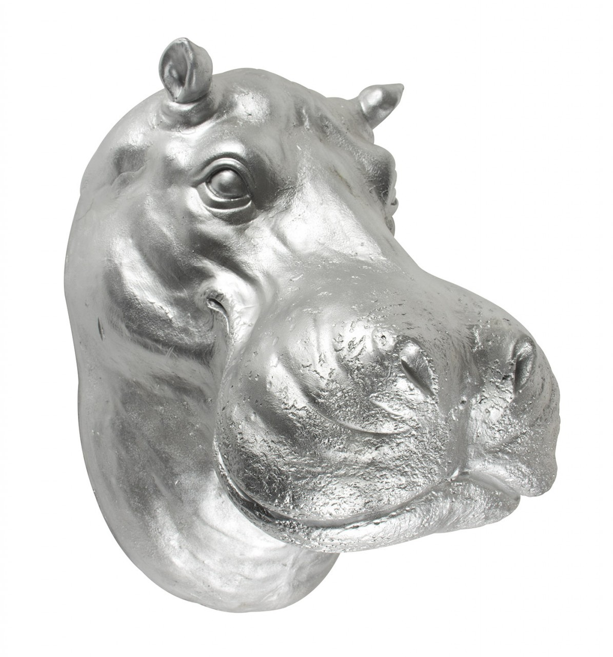 Hippo head wall mount