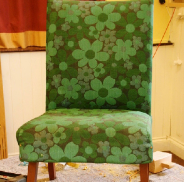 Upholstery Courses Dumfries and Galloway - Brass Tacks