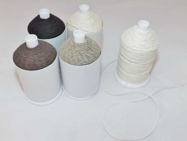 5 rolls of linen thread