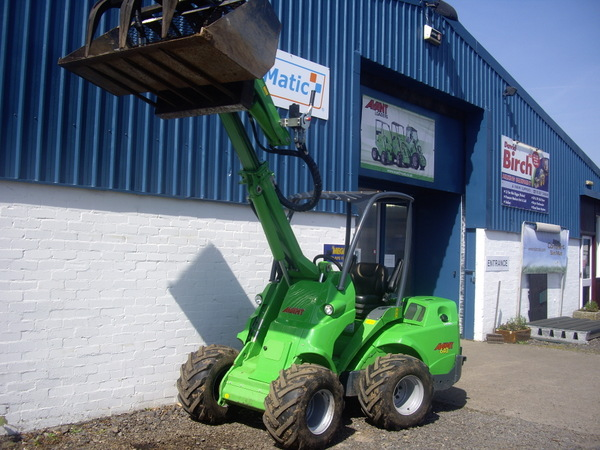 Plant hire from David Birch Milking Equipment
