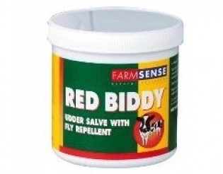 Tub of Red Biddy udder salve