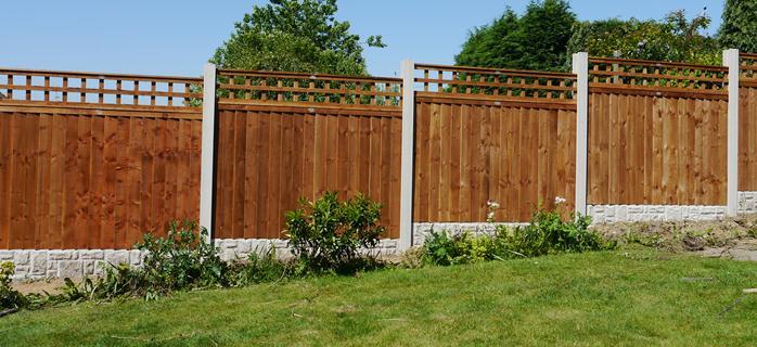 Standard Featheredge Fence Panel