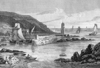 Portpatrick Harbour in 1813
