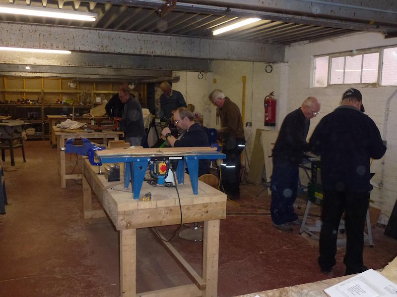 Dalbeattie Men's Shed Woodworking.