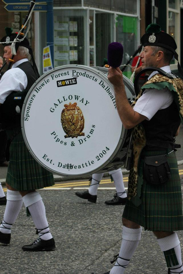 The Galloway Pipes and Drums