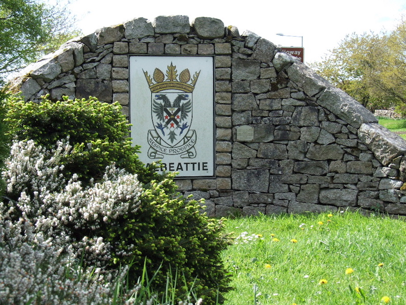 Dalbeattie Sign in John Street.
