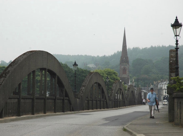 The bridge in Kirkcudbright