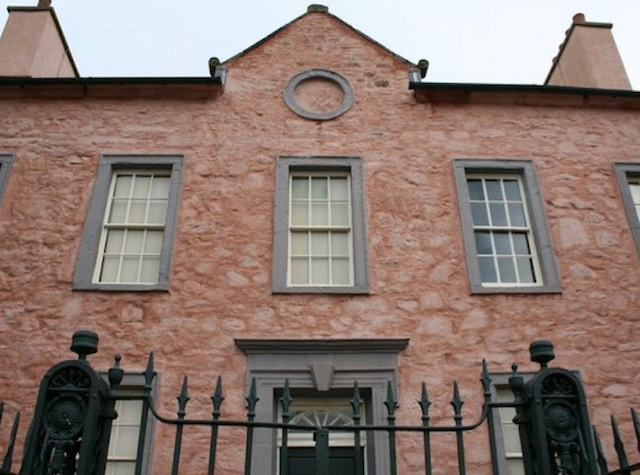 Front facade of Broughton House Kirkcudbright