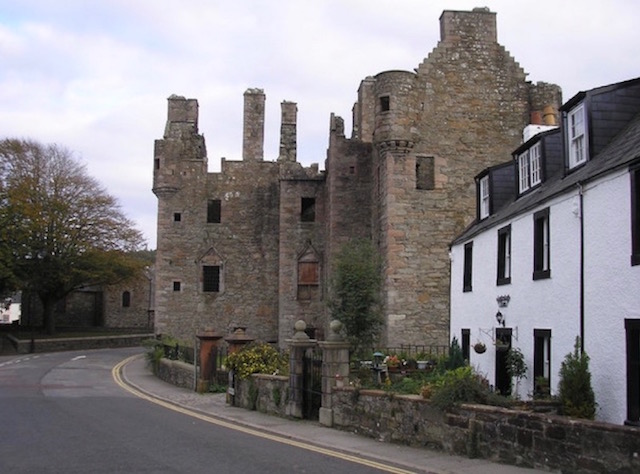 McLellan's Castle, one of the many historic sights to visit in and around Kirkcudbright