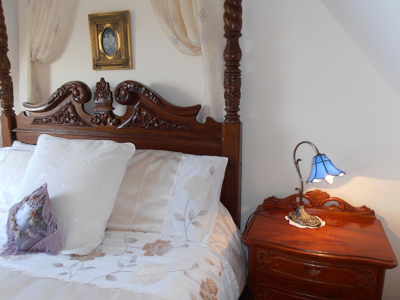 One of the Dairy House bedrooms with its classic furnishings