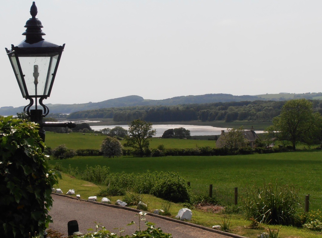 The view from The Dairy House, Kirkcudbright.