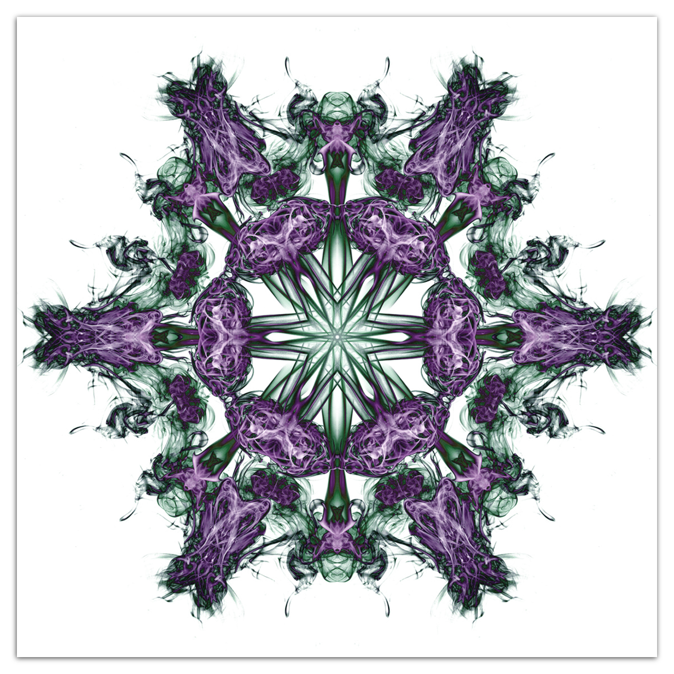 Mandala vortex 04 Purple