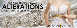 Bridal gowns alteration