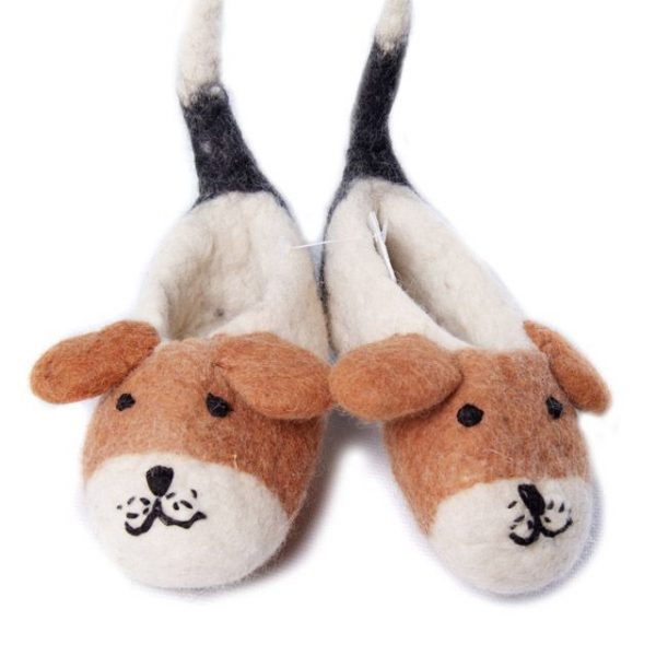 Animal Baby Booties - Puppies