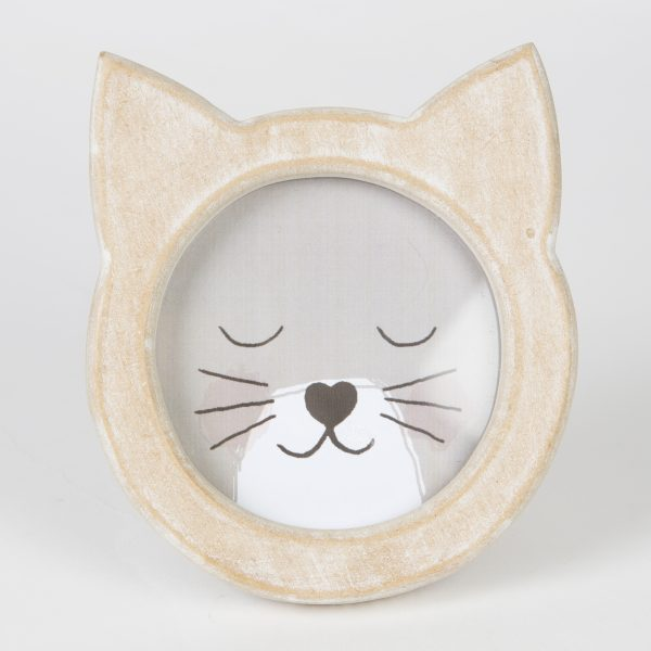 Cat Face Photo Frame