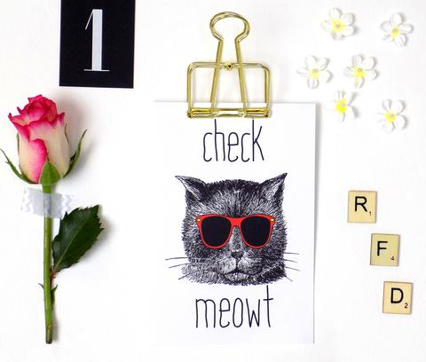 Check Meowt (Card) RFD001