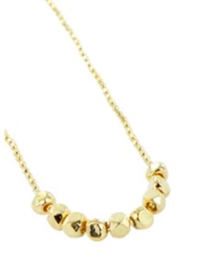 Gold Nugget Necklace REEV006