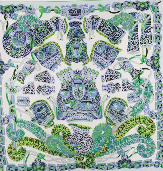 Silk Scarf by Maple Tree Scotland - Amour Print MTS001