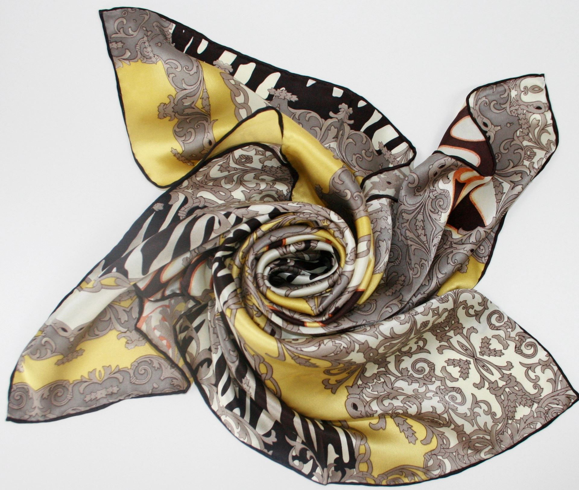 Silk Scarf by Maple Tree Scotland - Leopard Print MTS005