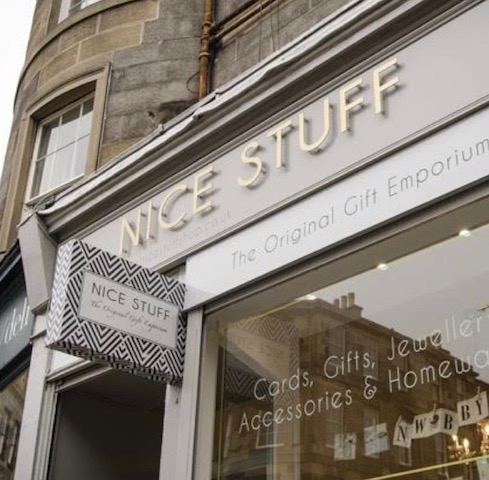 Edinburgh gift shops selling quirky and unusual gifts  Nice Stuff Shop, 44 Broughton Street, Edinburgh