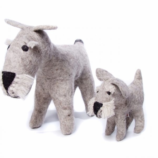 Schnauzer Doggie Toy Large