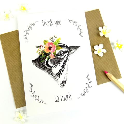Thank You So Much Card RFD011
