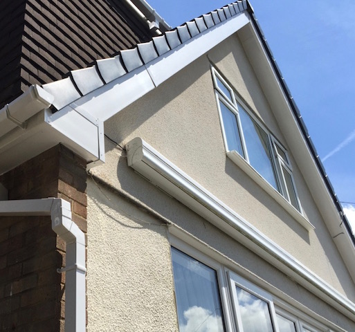 New fascias and soffits