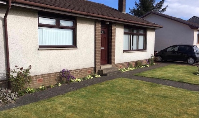 Ayrshire bungalow in a before image