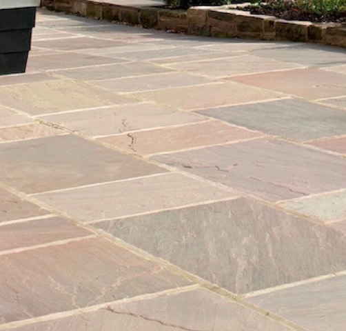 Sandstone patio Northampton