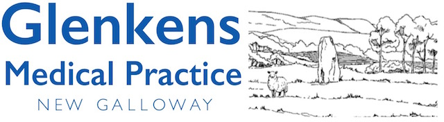 Logo of the Glenkens Medical Practice, New Galloway