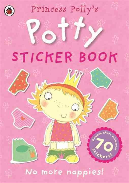 Princess Pollys Potty Sticker book
