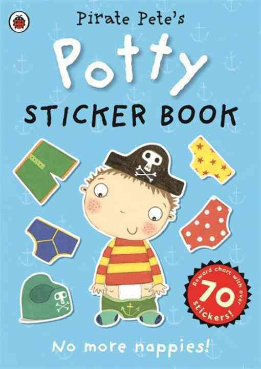 Pirate Petes Potty Sticker Book