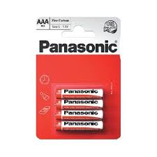 AAA Batteries - Panasonic 4 Pack