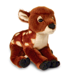 19cm Woodland Animal - Fawn (Baby Deer)