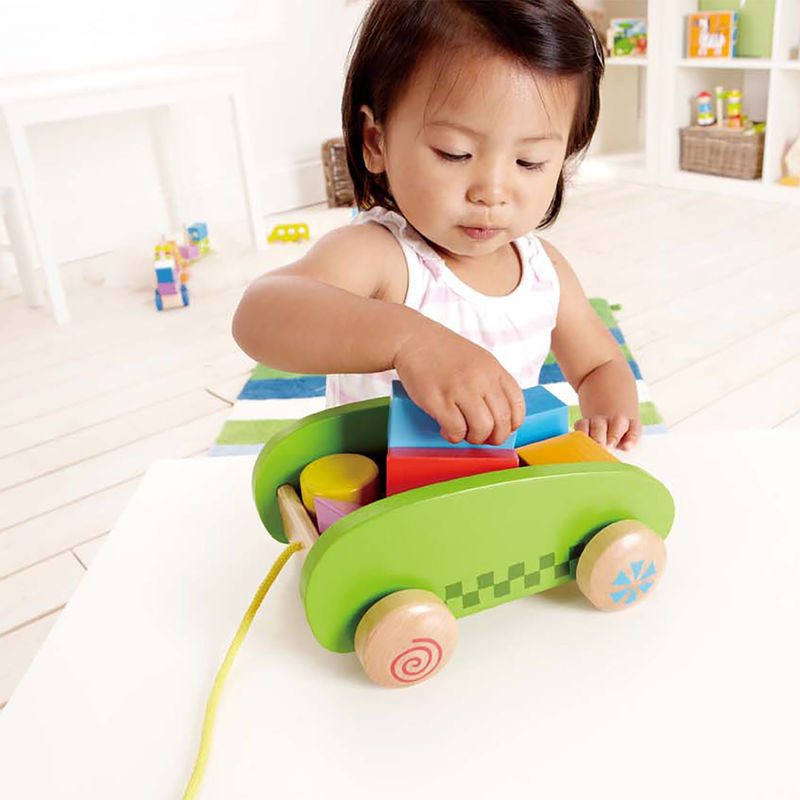Hape Mini Block and Roll