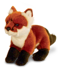 19cm Woodland Animal - Fox Cub