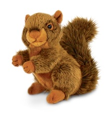 19cm Woodland Animal - Squirrel Pup